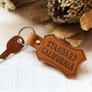 BUTTON WORKS×SD Shield Logo Leather Key Holder【STANDARD CALIFORNIA(スタンダードカリフォルニア)】 通販