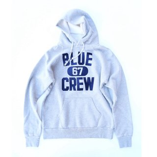 <img class='new_mark_img1' src='//img.shop-pro.jp/img/new/icons16.gif' style='border:none;display:inline;margin:0px;padding:0px;width:auto;' />BLUE CREW SWEAT PULL PARKA【BLUE BLUE(ブルーブルー)】 通販