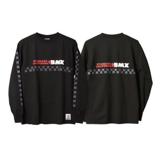 <img class='new_mark_img1' src='//img.shop-pro.jp/img/new/icons5.gif' style='border:none;display:inline;margin:0px;padding:0px;width:auto;' />SD Heavyweight BMX Logo Long Sleeve T【STANDARD CALIFORNIA(スタンダードカリフォルニア)】 通販