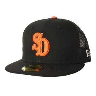 <img class='new_mark_img1' src='//img.shop-pro.jp/img/new/icons16.gif' style='border:none;display:inline;margin:0px;padding:0px;width:auto;' />NEW ERA×SD 59 FIFTY Logo Mesh Cap【STANDARD CALIFORNIA(スタンダードカリフォルニア)】 通販