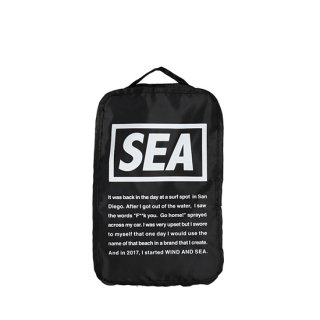 <img class='new_mark_img1' src='https://img.shop-pro.jp/img/new/icons5.gif' style='border:none;display:inline;margin:0px;padding:0px;width:auto;' />WDS TRAVEL POUCH (SMALL)【WIND AND SEA(ウィンダンシー)】 通販
