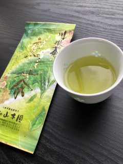 読み物 美味しい川根新茶!