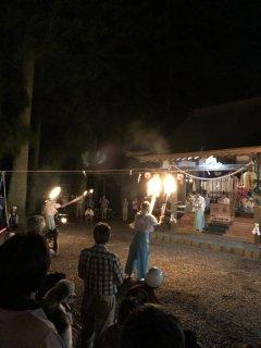 徳山神社の祭り