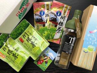 夏の川根茶お得セットは9月末まで