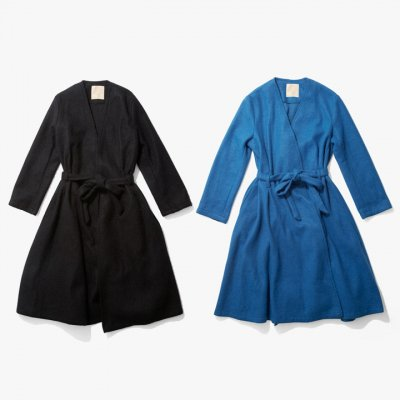 MARTE No Collar Gown Coat