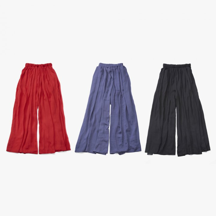 MARTE Gather Wide Pants