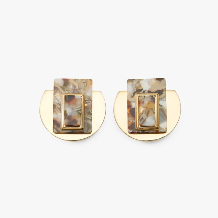 MARTE Marble Earrings