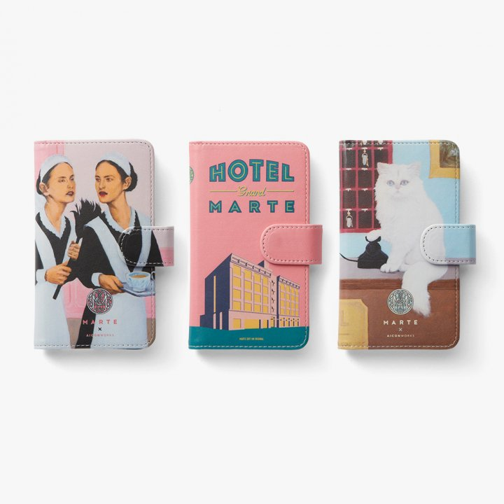 HOTEL Grand MARTE iPhone Case