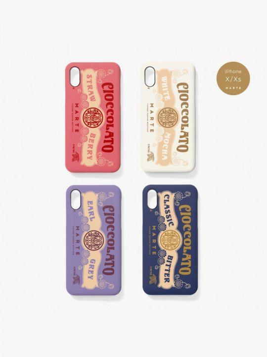 MARTE CIOCCOLATO Logo iPhone Case