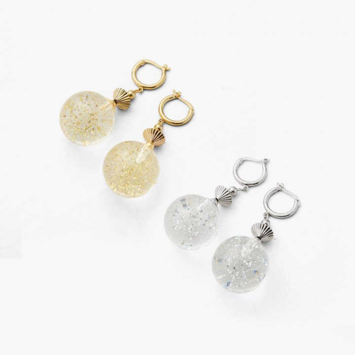 MARTE Crystal Doorknob Pierce