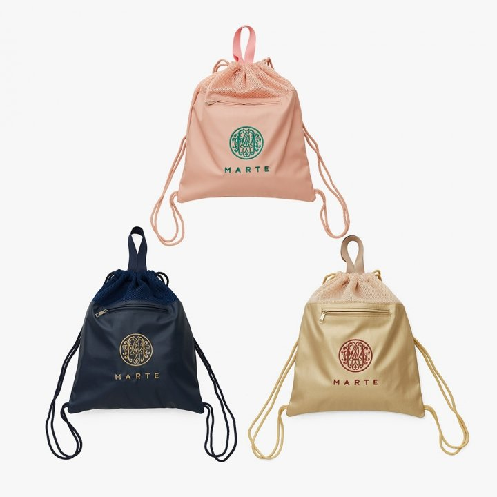 <img class='new_mark_img1' src='//img.shop-pro.jp/img/new/icons56.gif' style='border:none;display:inline;margin:0px;padding:0px;width:auto;' />MARTE Drawstring Backpack