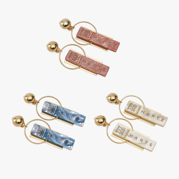 MARTE Room Key Earrings