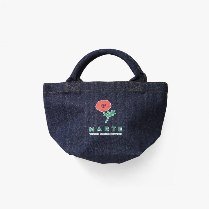 MARTE Anemone Denim Bag