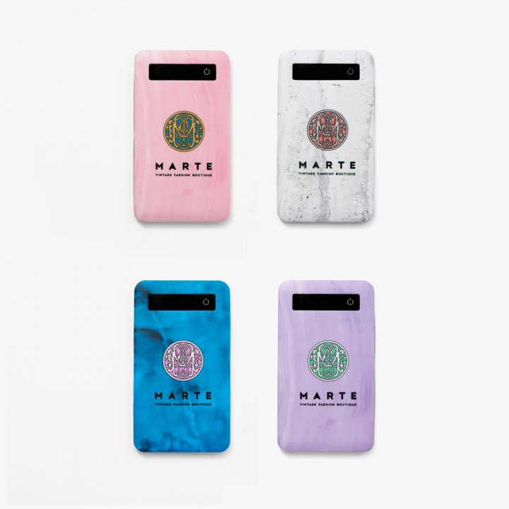 MARTE Logo Mobile Battery
