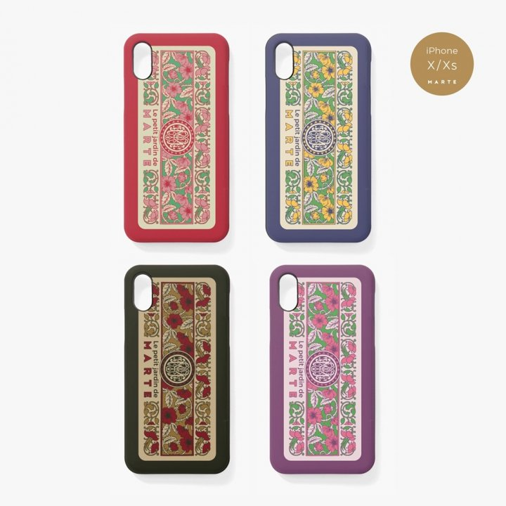 Le petit jardin de MARTE iPhone Case