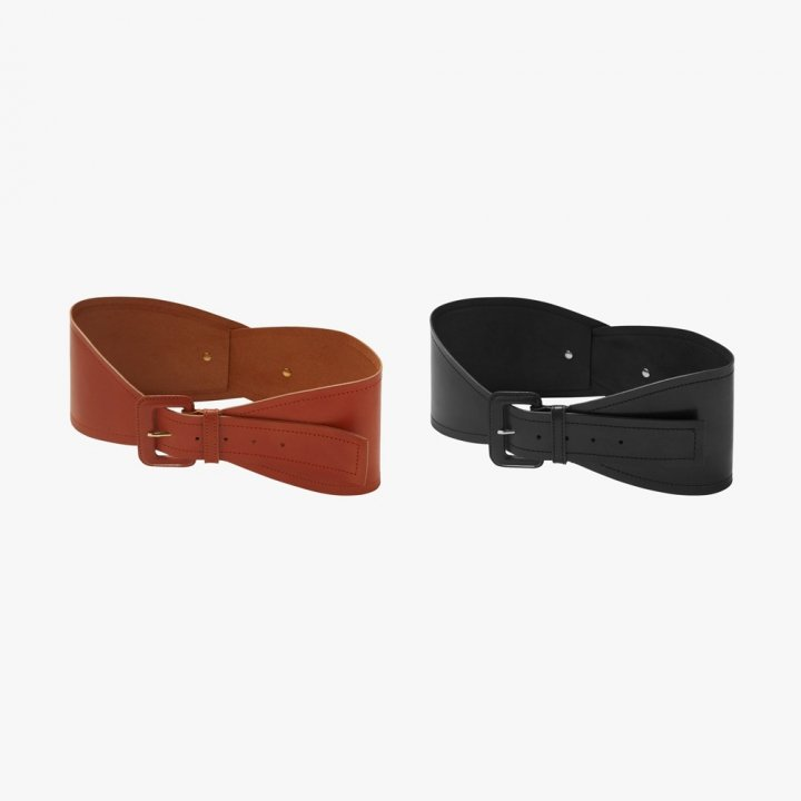 MARTE Lether Cross Belt