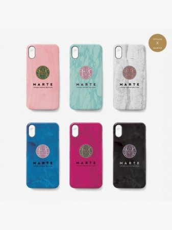 MARTE Stone Logo iPhone Case