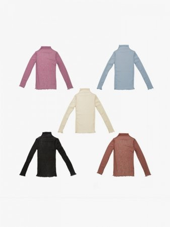 <img class='new_mark_img1' src='//img.shop-pro.jp/img/new/icons47.gif' style='border:none;display:inline;margin:0px;padding:0px;width:auto;' />MARTE High-neck Sheer Tops