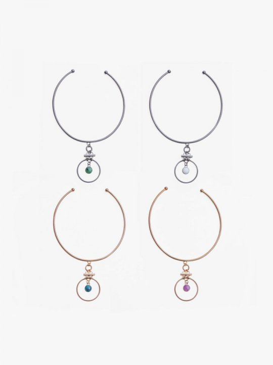 <img class='new_mark_img1' src='//img.shop-pro.jp/img/new/icons5.gif' style='border:none;display:inline;margin:0px;padding:0px;width:auto;' />MARTE Round Design Stone Choker