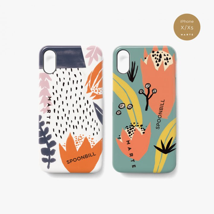 MARTE ×SPOONBILL iPhone Case
