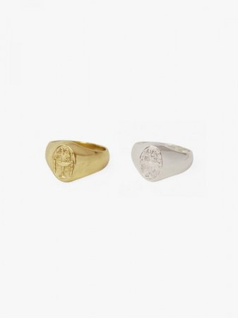 MARTE Ancient Sculpture Ring L