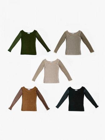 MARTE Mesh Sleeve Tops