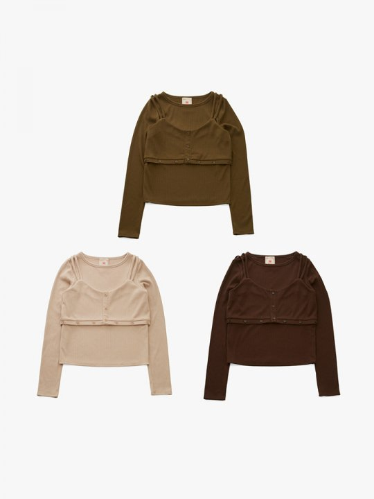 MARTE 2way Layered Tops