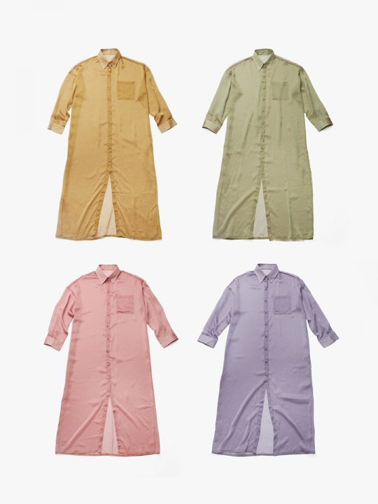 <img class='new_mark_img1' src='//img.shop-pro.jp/img/new/icons5.gif' style='border:none;display:inline;margin:0px;padding:0px;width:auto;' />MARTE Sheer Shirt Onepiece