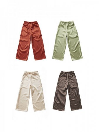 <img class='new_mark_img1' src='//img.shop-pro.jp/img/new/icons5.gif' style='border:none;display:inline;margin:0px;padding:0px;width:auto;' />MARTE Satin Wide Pants