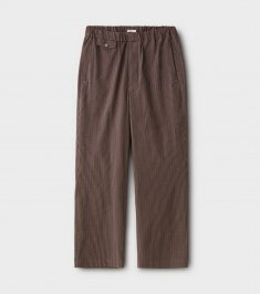 Seersucker Stripe Easy Trousers