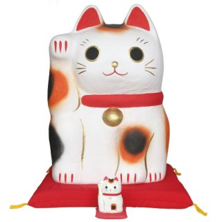 招き猫ディスプレイ
