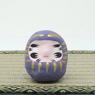 ミニだるま(紫)