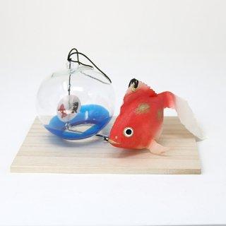 風鈴金魚(赤金)