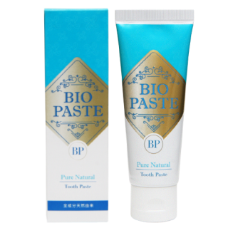 BIO PASTE � バイオペースト� 60g 歯磨き粉 デンタルケア 100%ナチュラル成分 バイオミネラル使用 口臭予防 マウスウォッシュとしても!