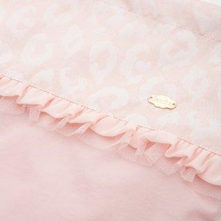 ピンクレオパード巾着袋   ¥4200(税抜)