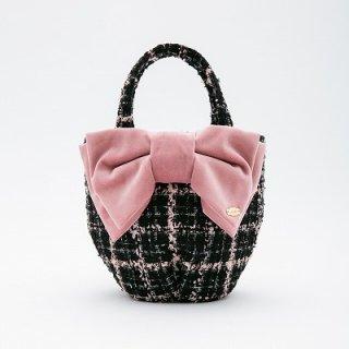 3/20再販売クラシック ブラック&ピンクツイード ¥15800(税抜)
