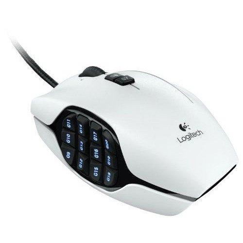 ロジクール G600 MMO  ゲーミングマウス ホワイト