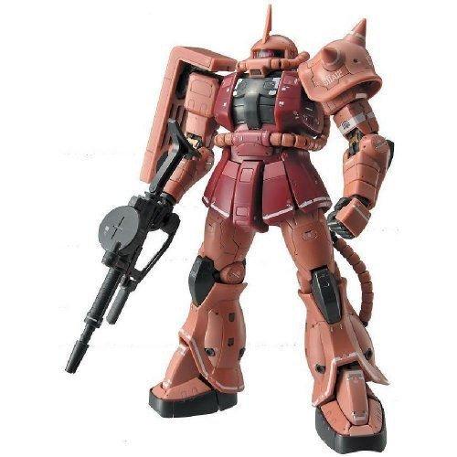 Bandai バンダイ #02 MS-06S Char's Zaku 1/144 Real Grade プラモデル 模型 モデルキット おもちゃ