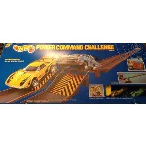 1989 Hot Wheels (ホットウィール) Power Command Challenge Race Set with 2 Cars ミニカー ミニチュア