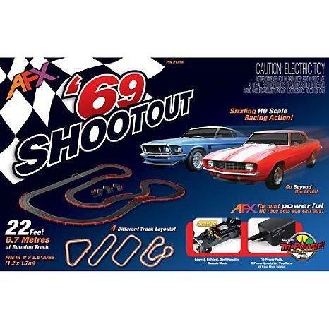 AFX '69 Shootout Set ミニカー ミニチュア 模型 プレイセット自動車 ダイキャスト