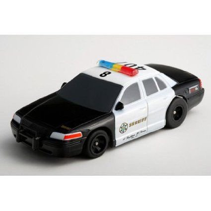AFX County Sheriff Super G Plus Slot Car ミニカー ミニチュア 模型 プレイセット自動車 ダイキャスト