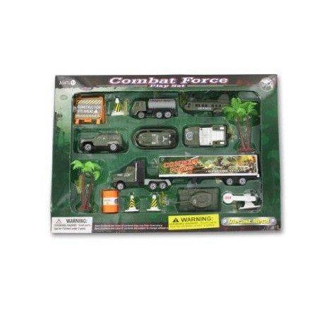 Combat force play set ミニカー ミニチュア 模型 プレイセット自動車 ダイキャスト