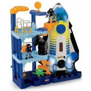 Fisher-Price (フィッシャープライス) Imaginext Space Shuttle and Tower ミニカー ミニチュア 模型 プ