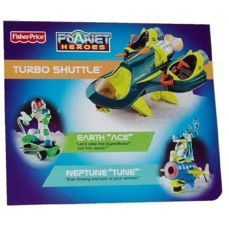 Fisher-price Planet Heroes Super Shuttle Bundle + ACE & Tune ミニカー ミニチュア 模型 プレイセ…