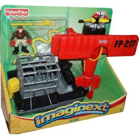 Fisher-Price (フィッシャープライス)R Imaginext? Adventures - Plane ミニカー ミニチュア 模型 プレイ