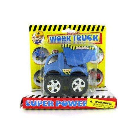 Friction powered construction trucks (Case of 48) ミニカー ミニチュア 模型 プレイセット自動車 ダイ