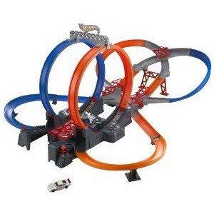 Hot Wheels (ホットウィール) Mega Loop Mayhem Trackset ミニカー ミニチュア 模型 プレイセット自動車