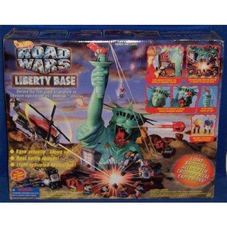Hot Wheels (ホットウィール) Road Wars Liberty Base Electronic プレイセット ミニカー ミニチュア 模