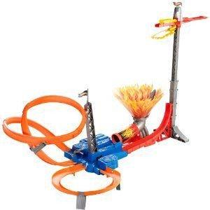 Hot Wheels (ホットウィール) Sky Jump Track Set ミニカー ミニチュア 模型 プレイセット自動車 ダイキ