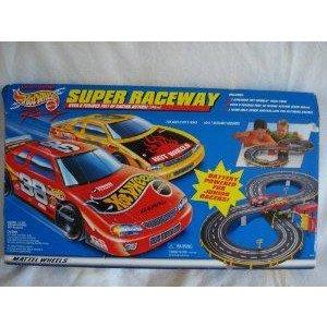 Hot Wheels (ホットウィール) Super Raceway ミニカー ミニチュア 模型 プレイセット自動車 ダイキャスト